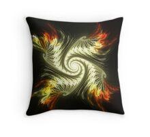 Gnarls On Fire Throw Pillow