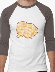 Albino Ball Python Men's Baseball ¾ T-Shirt