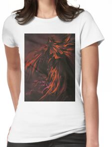 vincent valentine Womens Fitted T-Shirt