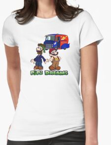 Mario and Luigi - Pipe Dreams Womens Fitted T-Shirt