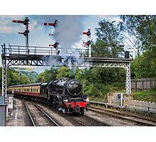 Steam train 1 Photographic Print