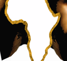 """Africa Must Wake Up"" - Nas & Damian Marley Sticker"