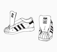 RUN DMC Shelltoe Adidas  by philmart