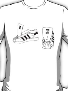 RUN DMC Shelltoe Adidas  T-Shirt
