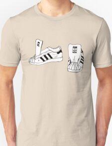 RUN DMC Shelltoe Adidas  T-Shirt