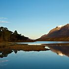 Snow Capped Liathach Reflections at Sunrise by Bill Buchan