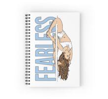 FEARLESS Pole Dancer Spiral Notebook