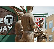 Red Sox Statue Photographic Print