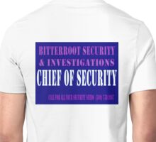 Chief in Blue Unisex T-Shirt