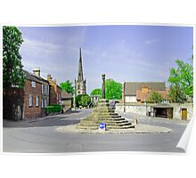 Willington Road, Repton Poster