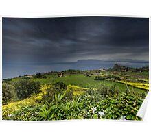Vista panoramica di Scopello Poster