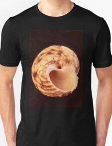 Sea Shell on Dark Background T-Shirt
