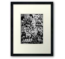 Resistance. Framed Print