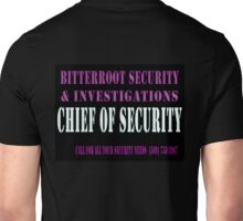 Chief in Black Unisex T-Shirt