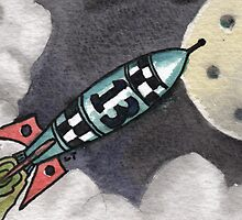 Rocket 13 to the Moon by Lee Twigger