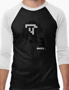 Tecmo Bowl - 8-bit - Mini Helmet shirt Men's Baseball ¾ T-Shirt