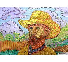 338 - BRICK VAN GOGH - DAVE EDWARDS - COLOURED PENCILS - 2011 Photographic Print