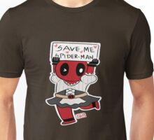Save me Spider-Man! Unisex T-Shirt