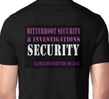 Security in Black Unisex T-Shirt