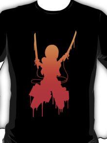 attack on titan mikasa ackerman anime manga shirt T-Shirt