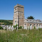 St Peters Abbey Church Abbotsbury  by Elaine123