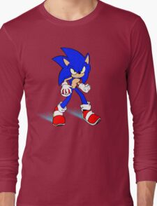 Sonic : Super Fast Pokemon Trainer Long Sleeve T-Shirt