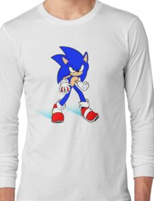 Sonic : Super Fast Pokemon Trainer Long Sleeve T-Shirt