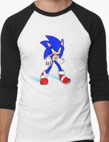 Sonic : Super Fast Pokemon Trainer Men's Baseball ¾ T-Shirt