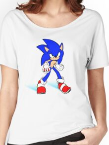Sonic : Super Fast Pokemon Trainer Women's Relaxed Fit T-Shirt