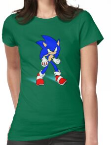 Sonic : Super Fast Pokemon Trainer Womens Fitted T-Shirt