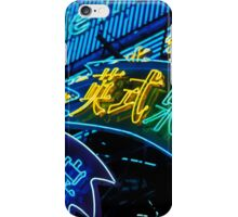 Metro Neon iPhone Case/Skin