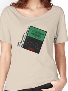 The Hitchhiker's Wiki to the Galaxy Women's Relaxed Fit T-Shirt