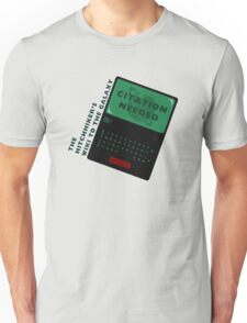 The Hitchhiker's Wiki to the Galaxy Unisex T-Shirt