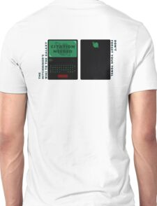 The Hitchhiker's Wiki to the Galaxy (alternate) Unisex T-Shirt