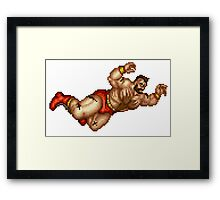 Zangief Framed Print