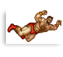 Zangief Canvas Print