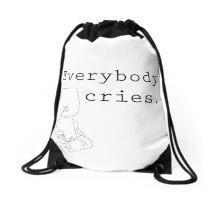 Everybody Cries. Drawstring Bag