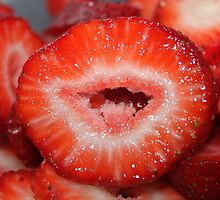 Strawberry lips..... by DonnaMoore
