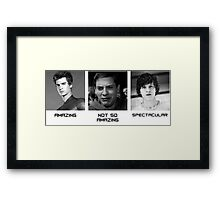 Hollywood Spider-Man Generations Framed Print