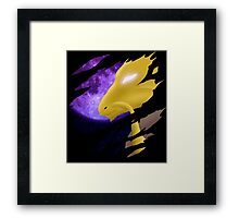 pokemon alakazam anime manga shirt Framed Print