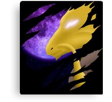 pokemon alakazam anime manga shirt Canvas Print