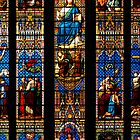 Stained Glass Window - Chichester Cathedral by Steve Churchill