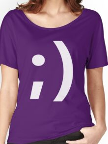 Wink ;) Women's Relaxed Fit T-Shirt