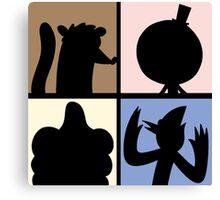 Cartoon Characters  Canvas Print