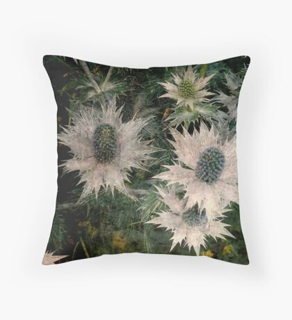 Thistle Patch  Throw Pillow