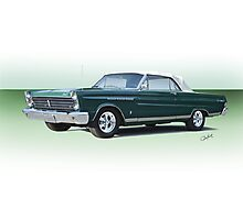 1965 Mercury Comet Caliente' Convertible Photographic Print