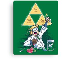 Hyrulean Science Canvas Print