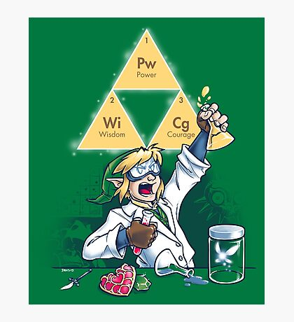 Hyrulean Science Photographic Print