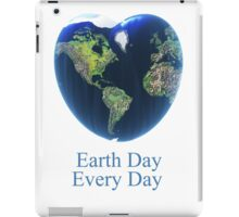 I love my earth iPad Case/Skin