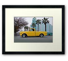 1968 GMC 'Custom' Pickup I Framed Print
